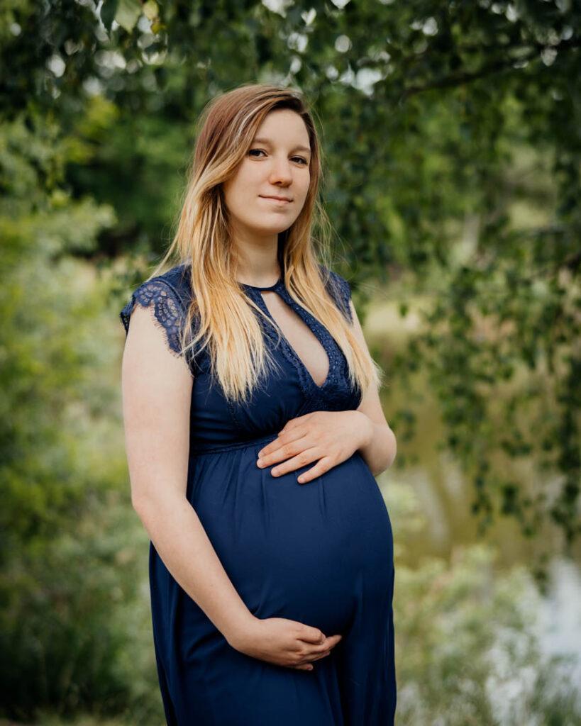 plenerowa sesja ciążowa Oława