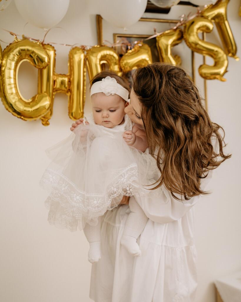 mama i córka chrzest Oława