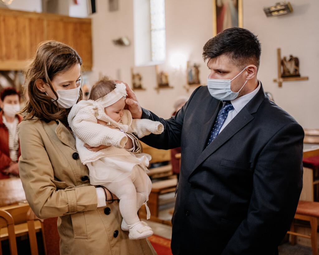 kościół Godzikowice chrzest