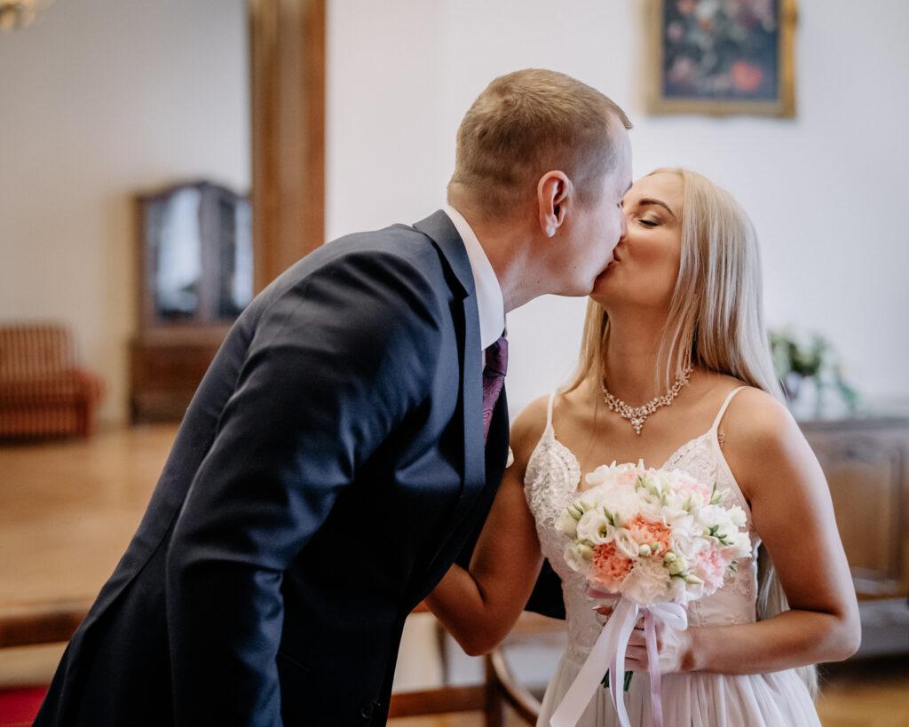 para młoda Oława ślub
