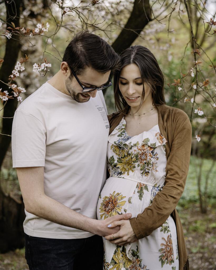 sesja ciążowa pary Wrocław