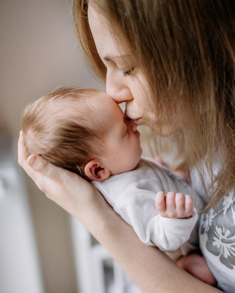 mama i dziecko sesja noworodkowa Oława